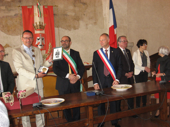 Italienbesuch und Jubiläum mit Todi