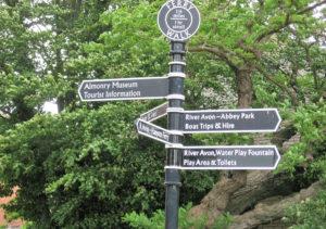 Touristische Sehenswürdigkeiten gibt es an jeder Ecke in Evesham