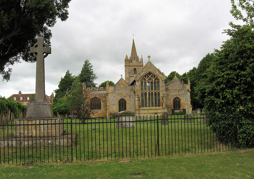 Die St. Lawrence's Church in Evesham