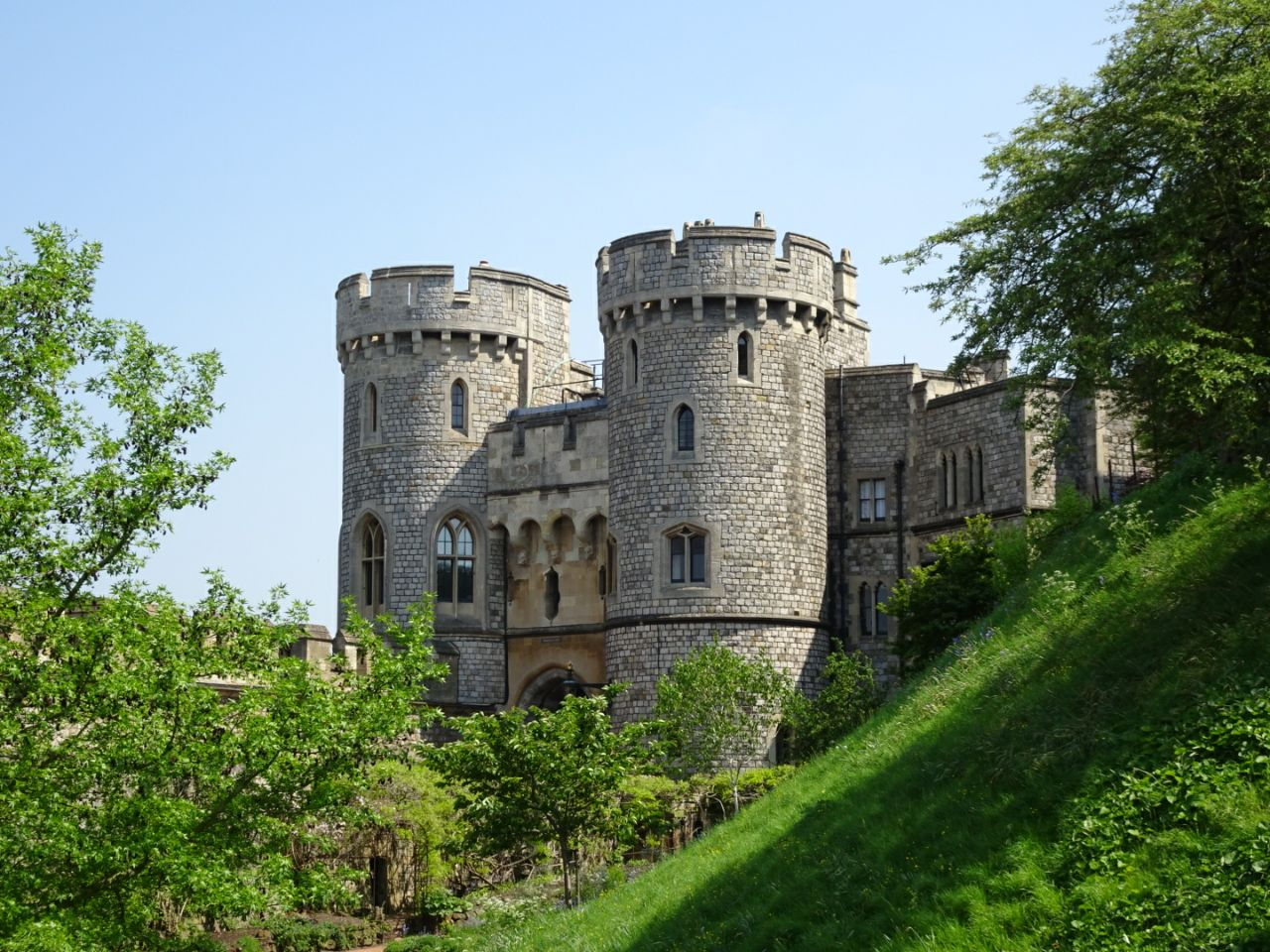 Verschiedene Aufnahmen des Castle – der Burg