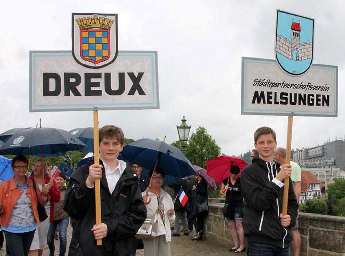 50 Jahre Dreux - Melsungen
