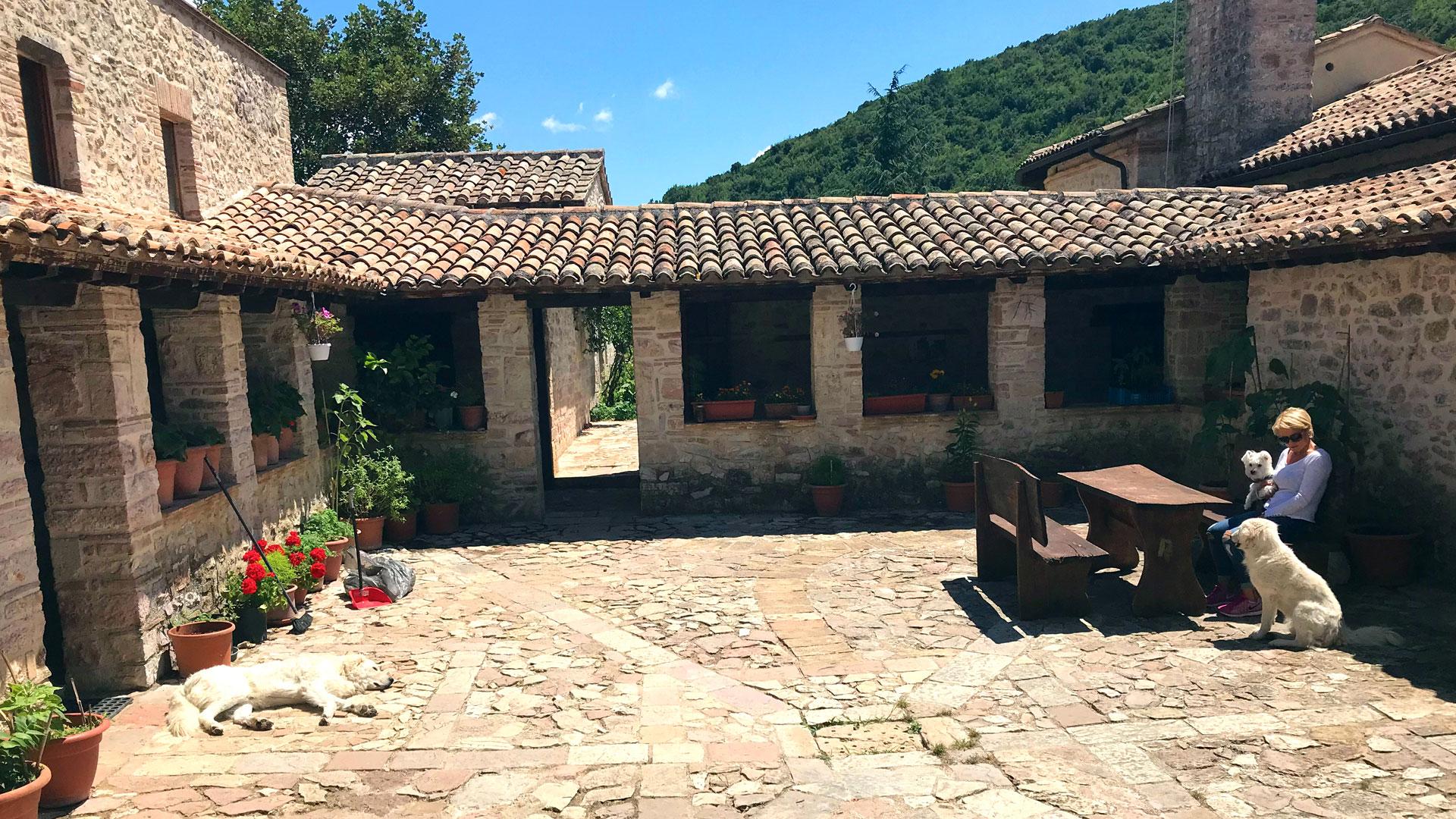 Romita in Todi - Italien