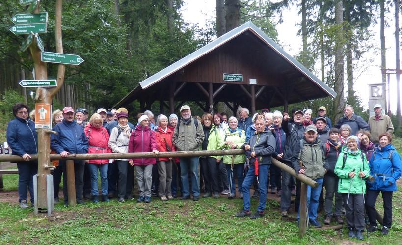 Gruppe am Rennsteig – Foto: Endrik Müller
