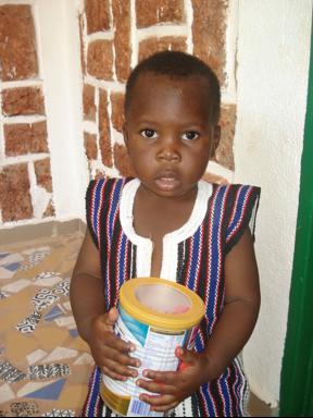 Isaac - seit Anfang November nicht mehr im Milchpulverprojekt