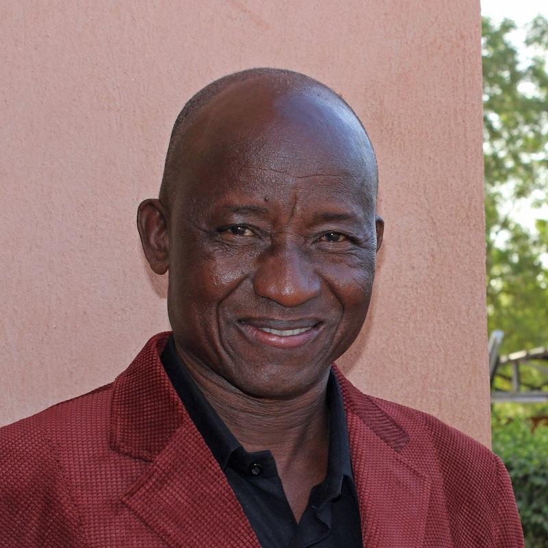 Benjamin Yameogo, Präsident des Städepartnerschaftsvereins in Koudougou