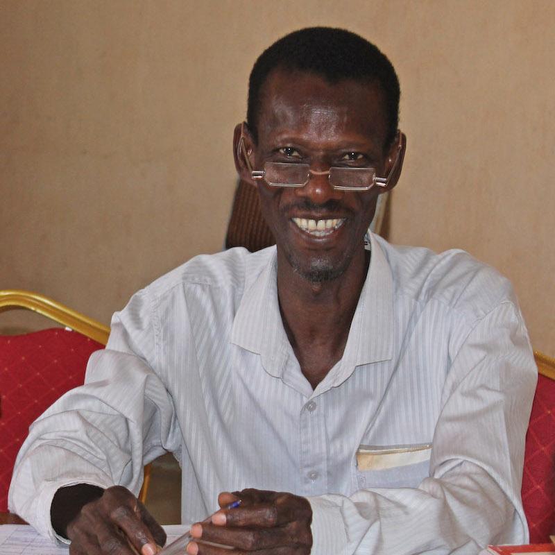Ousmane Sylla, Koordinator des Patenschaftskomitees