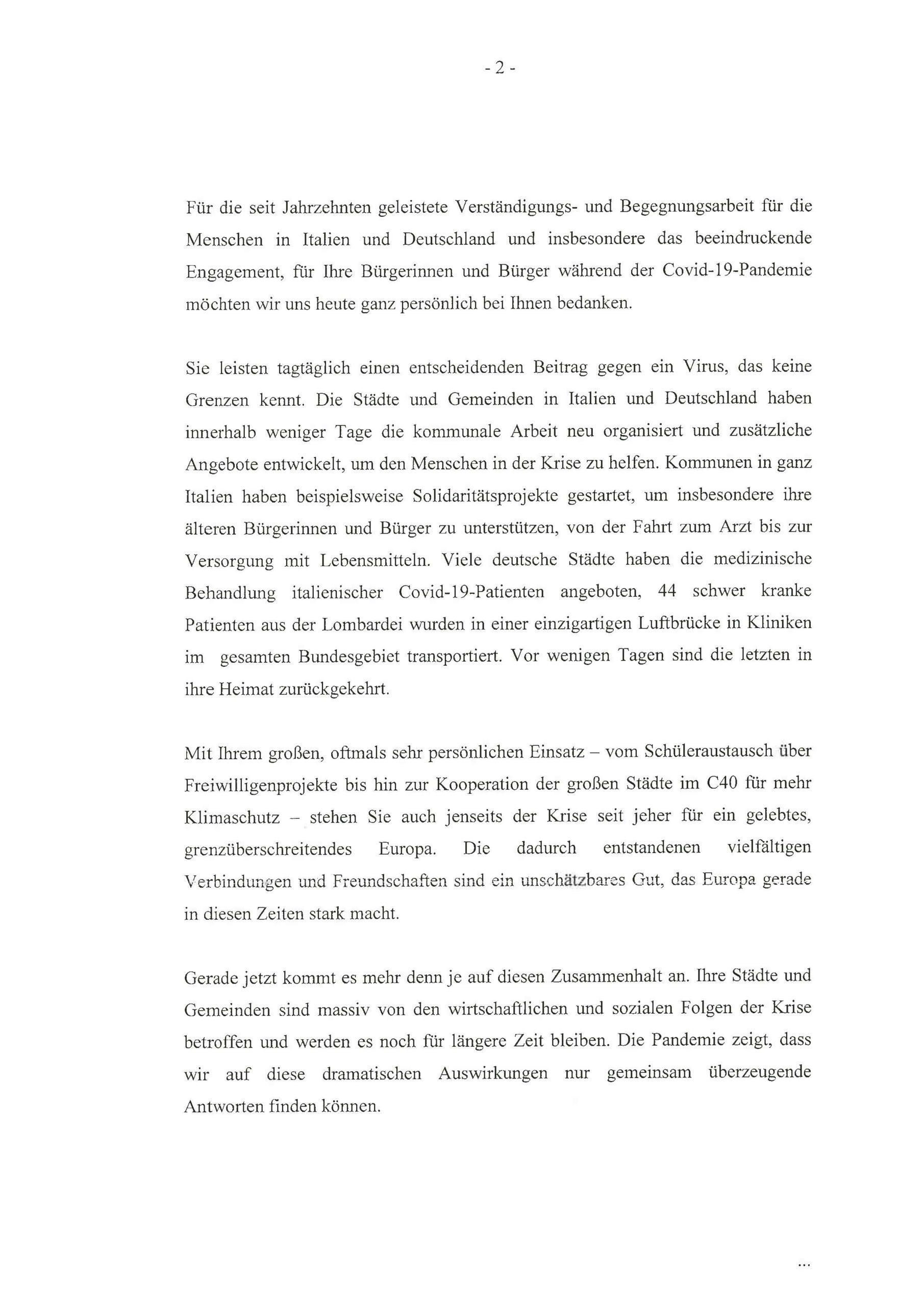 Brief Bundespräsident Seite 2