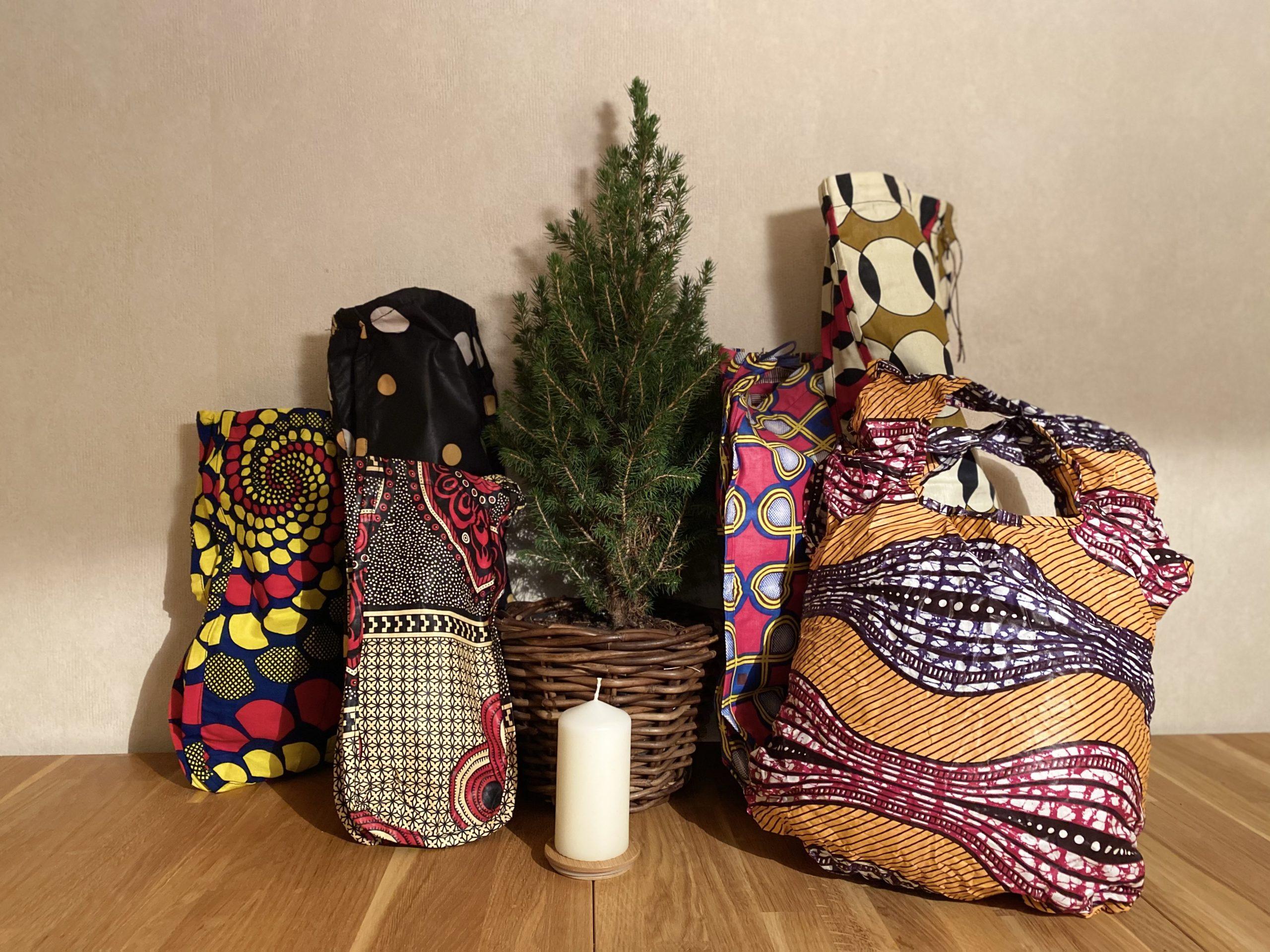 Brotbeutel und Taschen aus Koudougou